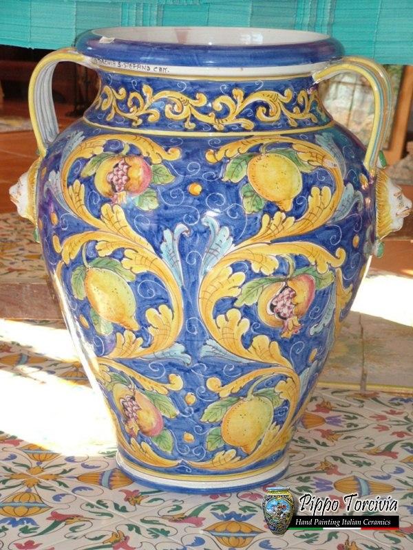 Scheda prodotto giara ceramiche torcivia srl - Giare da giardino ...