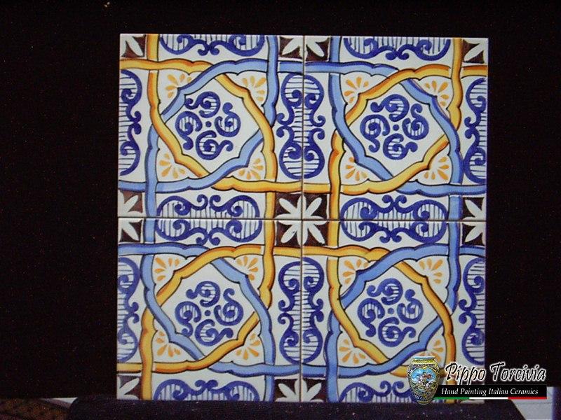 Ceramiche santo stefano di camastra piastrelle - Piastrelle siciliane antiche ...