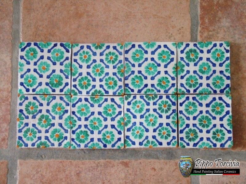 Piastrelle siciliane cucina trendy idee di piastrelle patchwork per una casa originale ed - Piastrelle siciliane decorate ...