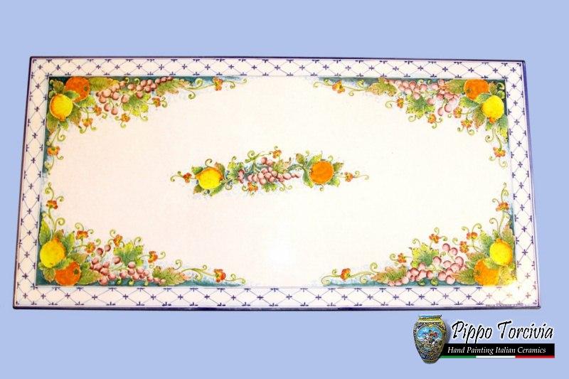 Scheda prodotto: tavolo decoro roma Ceramiche Torcivia srl