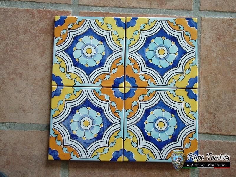 Piastrelle cucina siciliane: piastrelle cucina in ceramica di