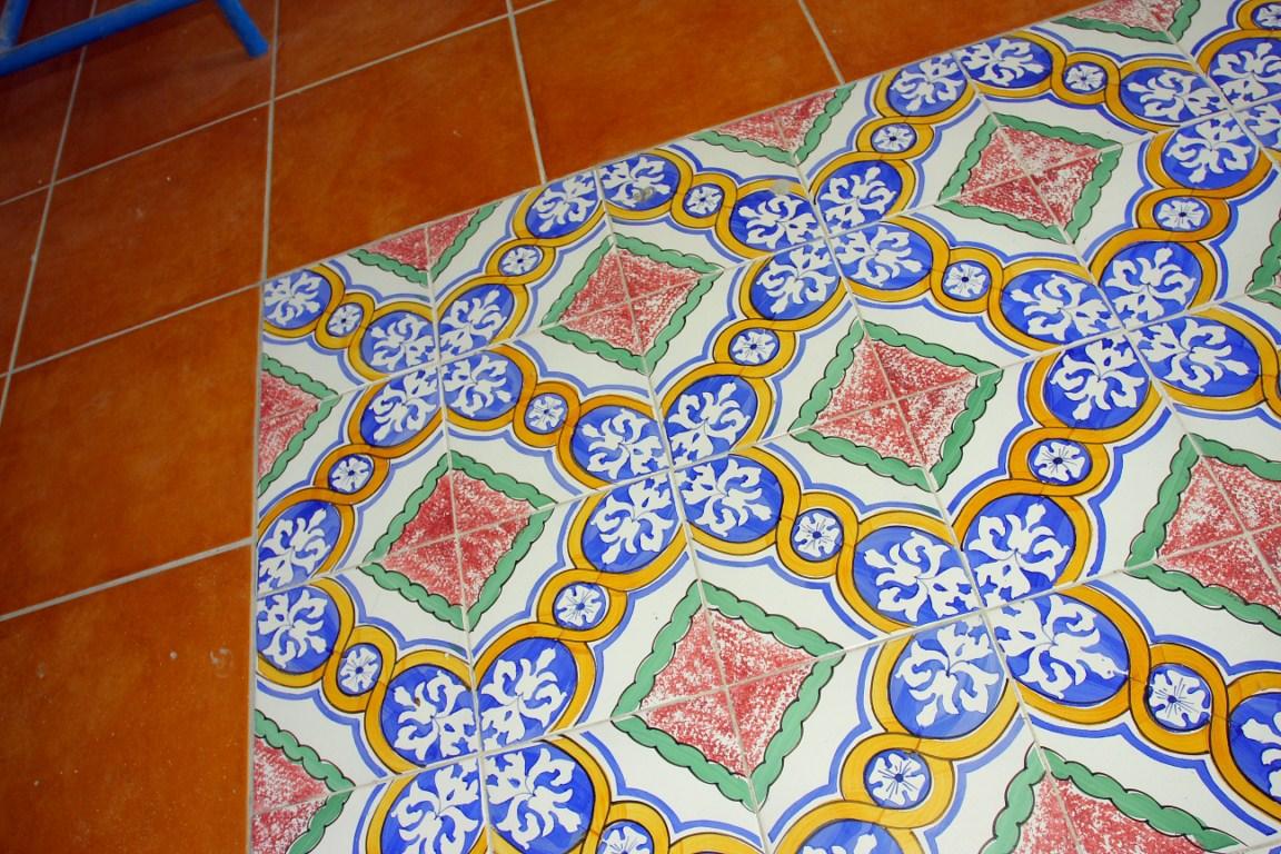 Piastrelle adesive stickers colorati per la casa dalani e ora